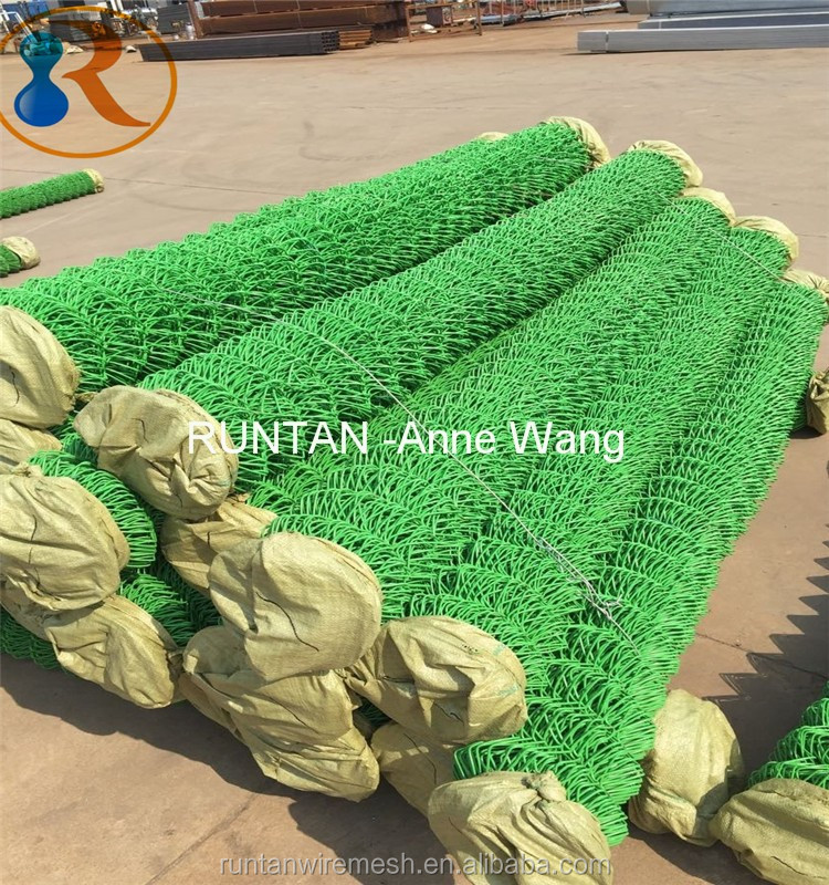 High Quality Used Galvanized 12 5 Gauge Chain Link Fence
