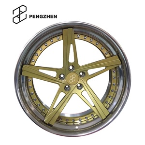 gold rims chrome lip, gold rims chrome lip Suppliers and
