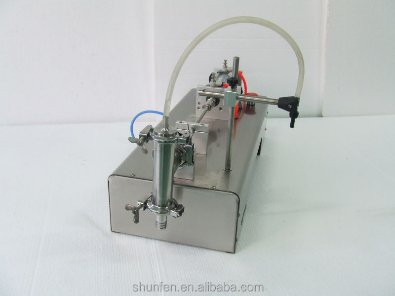 Free shipping pneumatic Semi-auto One-head Liquid dosing machine (2-12ml) (Liquid filler for oil, drinks, perfume, ink)