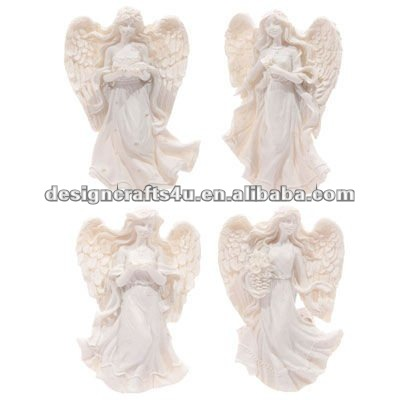 Resin Angel Figurine Fridge Magnet