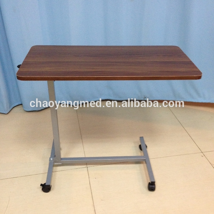 Hospital Bed Tray Table Tilting
