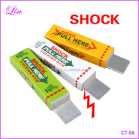 Safety Trick Joke Toy Fun Electric Toys Chewing Gum Pull Head Practical Jokes Fantastic