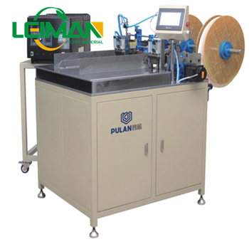Cabin filter making machine PLLG-2 Semi-auto Cabin Air Filter Gluing Machine