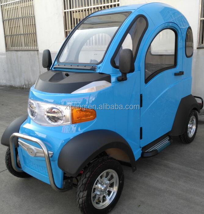electric mini car;Cabin Electric four wheel scooter With Passenger Seat;2016 newest electric scooter; 4 wheel scooter