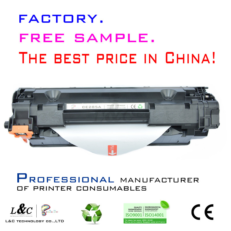 CE285A cartridges from China supplier for hp original 85a toner cartridge for printer
