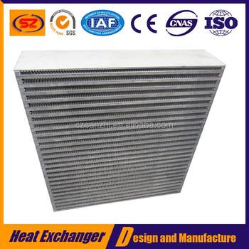 Oem Bar And Plate Aluminum Water Intercooler Core