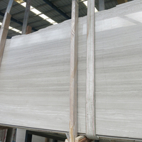 Price Nature Stone White Color Texture Marble Grain Wood Slabs
