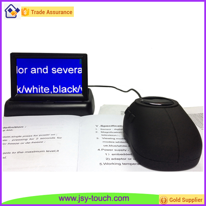 4.3 inch Portable Computer Magnifier with Wired Mouse for Low Vision Reading