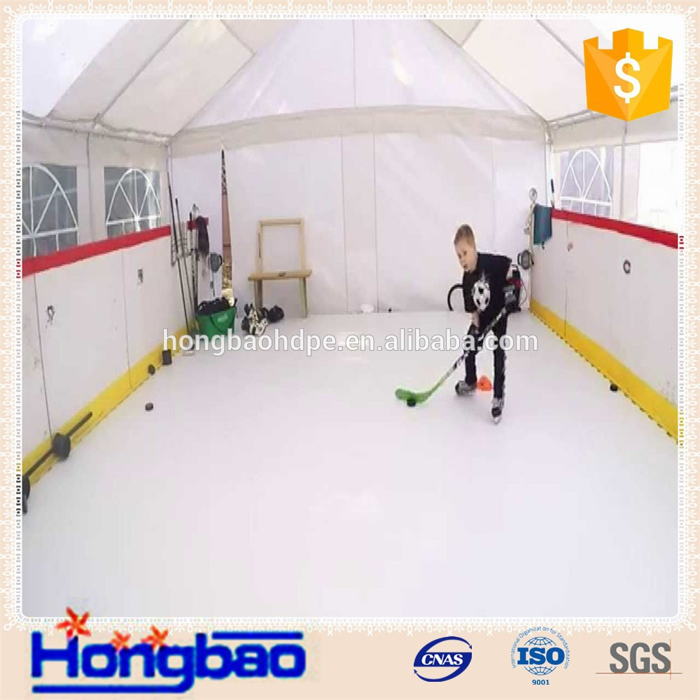 instant artificial ice rink synthetic ice place in backyard