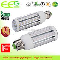 smd led corn light 7w 36w 3600lm~3960lm Warm White Waterproof IP65 (Equivalent 252w Halogen Bulb)