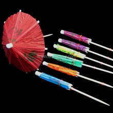 Fashion style paper cocktail umbrella toothpick