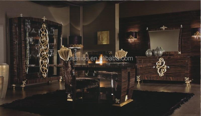 gallery of romantique gothique style salle manger table manger chaise buffet avec miroir et with salle a manger romantique