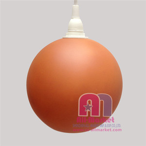 Home decoration glass painting sphere lampshade