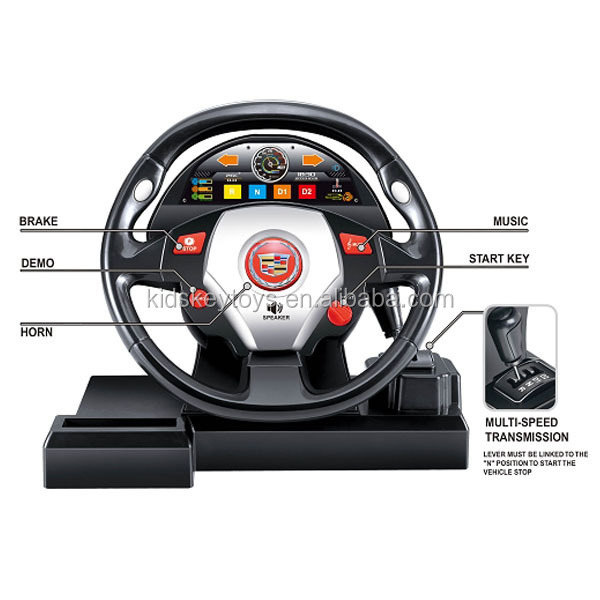 universal rc car steering wheel remote control car racing car kid toy