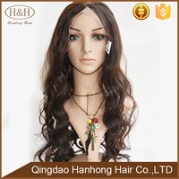 The latest version of the wig beautiful style body wave virgin brazilian human hair