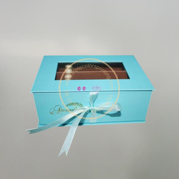 Black Kraft Lingerie Gift Boxes For Bra