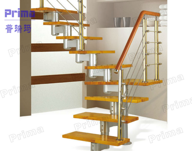 Outdoor Indoor Wood Step Straight Staircase Lowes Non Slip Stairs ...