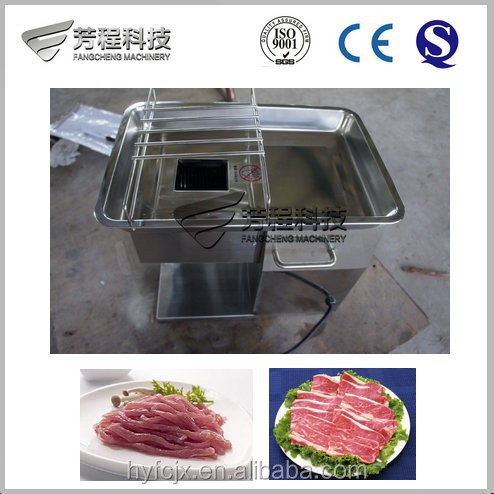 Compact Structure Widely Used in Little Shop cooked meat cutting machines