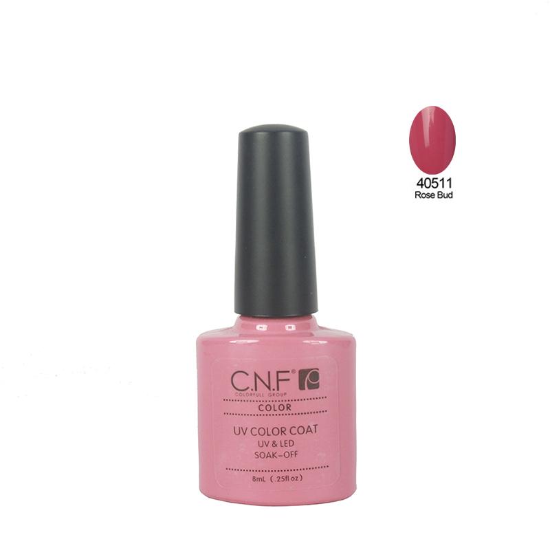 Color 40511 CNF nail gel polish 1pcs lot 79colors for choice long lasting soakoff UV LED