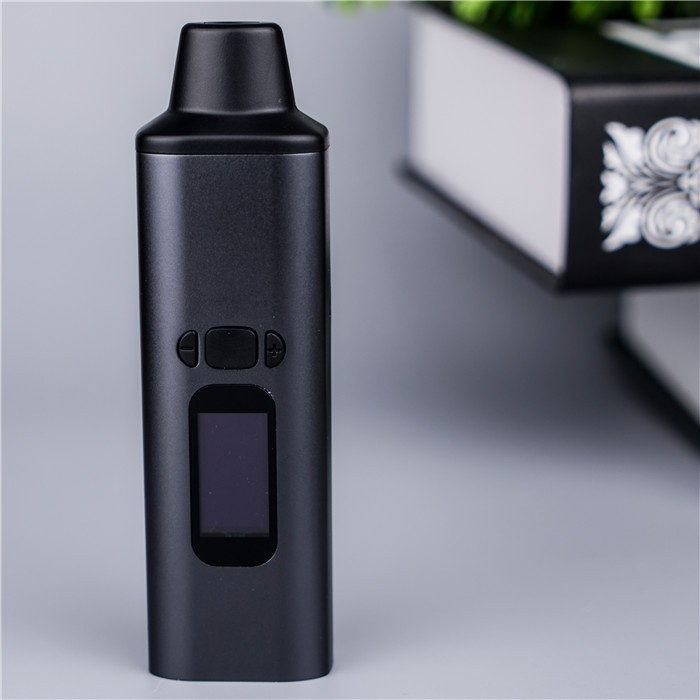 Intelligent digital portable slim dry herb vape starter kit Ald Amaze WOW vaporizer