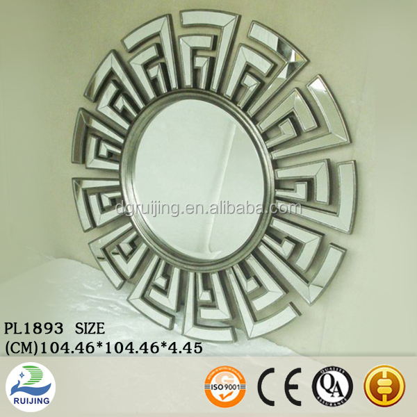 Round Shaped Wall Decor : Round shaped decorative wall mirror from factory buy