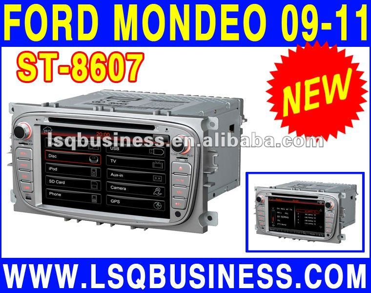 car autoradio for ford mondeo with gps navi, with TV/Bluetooth/Radio/DVD player/Steering wheel control....