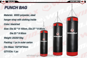 Winmax 20kg Punching Bag Boxing Punch Fitness Muscle Body Building Fighting