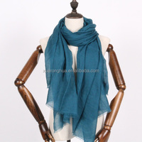 dark teal colour cashmere scarf for spring