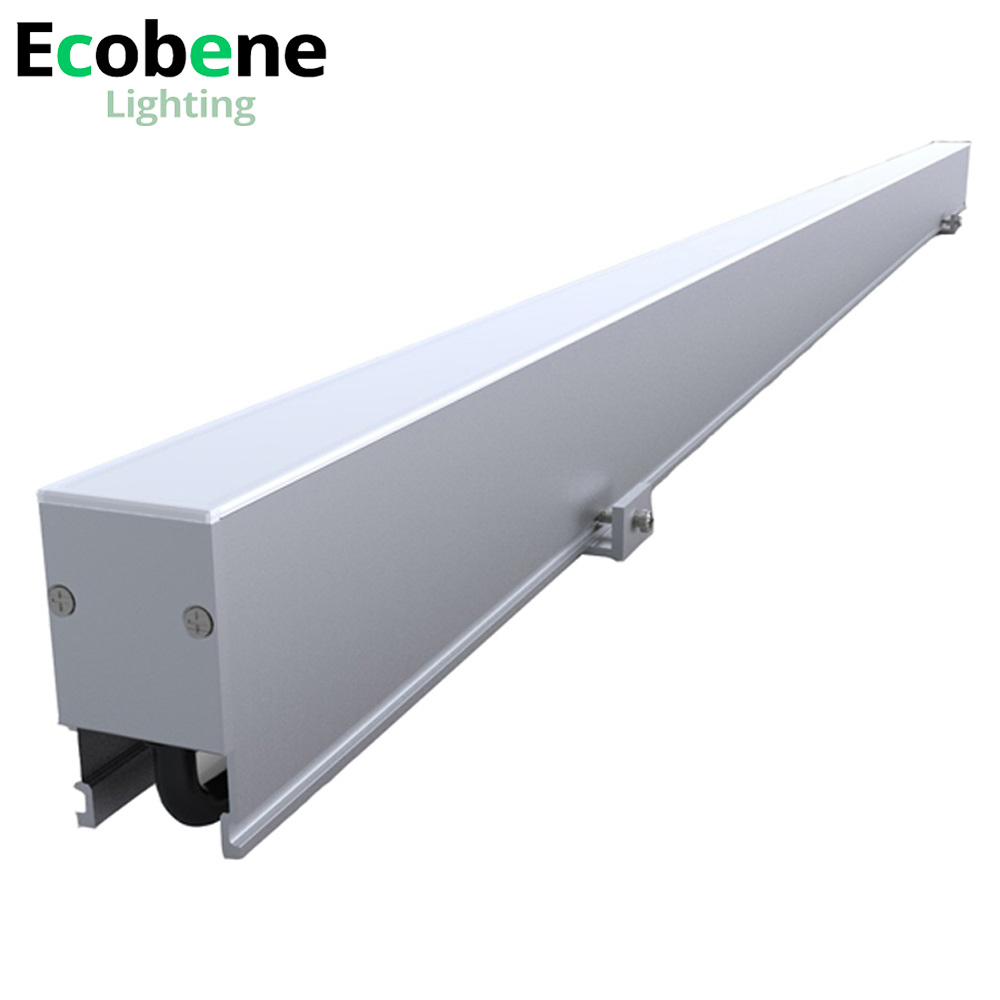 IP65 outdoor white led linear light 24V DMX rgb color changing fluorescent tubes