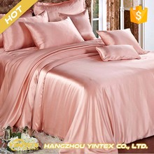 Luxury comfortable adult silk satin bed sheets