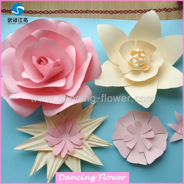 Wedding stage flower decoration paper flowers wedding wall wedding stage flower decoration paper flowers wedding wall decorations for sale mightylinksfo