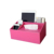 leather tissue box cover toilet paper holder dispenser for your home bathroom office and car