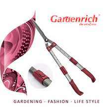 RG3205 Gardenrich telescopic hedge shear professional telescopic aluminum tube handle shear