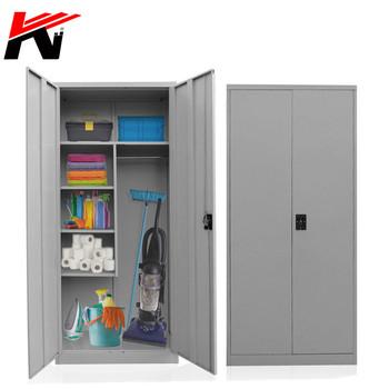 Outdoor Lockable Broom Storage Cabinet