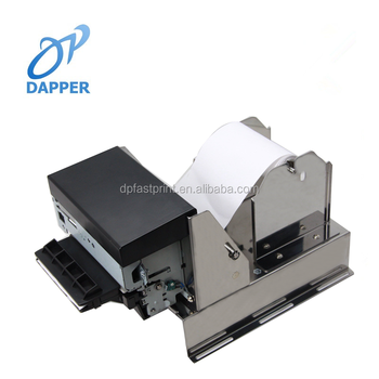 80mm 24V high speed RS232/USB/Parallel kiosk thermal printer with auto cutter