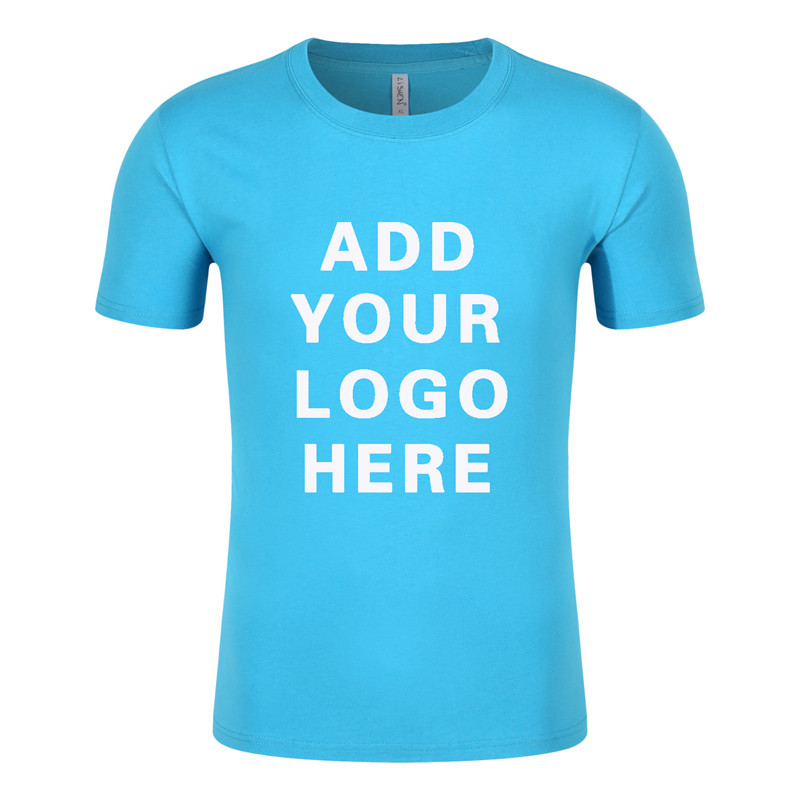 2017 Tshirt printing custom t shirt your own logo with 100% cotton