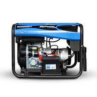 Popular design 5kw 5kva 6kva portable air cooled diesel generator price sale