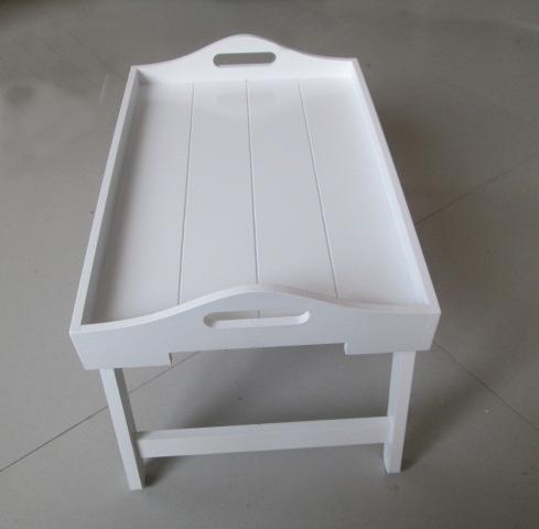 portable pliante en bois tour plateau portable table en. Black Bedroom Furniture Sets. Home Design Ideas
