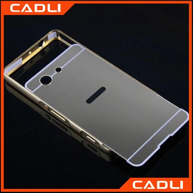 Ultra Acrylic Aluminum mobile phone case for Sony Xperia Z3 Compact