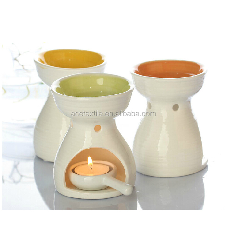 High Grade bathroom Ceramic Aroma Oil Burner Gift Set