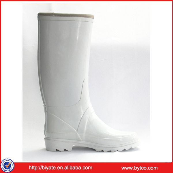 Womens White Rain Boots - Boot Hto
