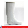 High Quality Women Rubber White Rain Boots