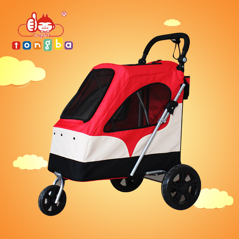 hot selling pet stroller new style 3 wheel pet travel trolley large dog pram BL06