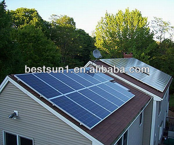 Bestsun 5000w high quality solar panel production line in pv turnkey 3