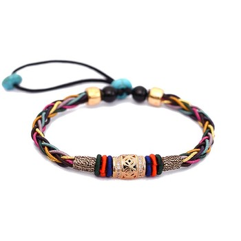 LONGJIE hot selling fashion customized hand-woven friendship bracelet female jewelry hand rope factory direct wholesale