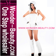 Blanco sexy adultos polar bear costume
