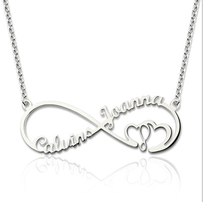N// Personalized Name Necklace-Custom Gifts 925 Sterling Silver