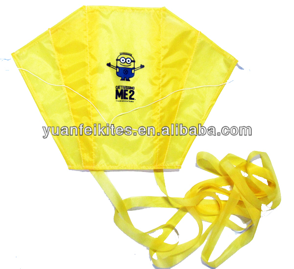 mini power kite with logo