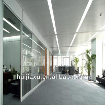 aluminum glass office partition interior glass wall double clear glass office partitions aluminum office partitions