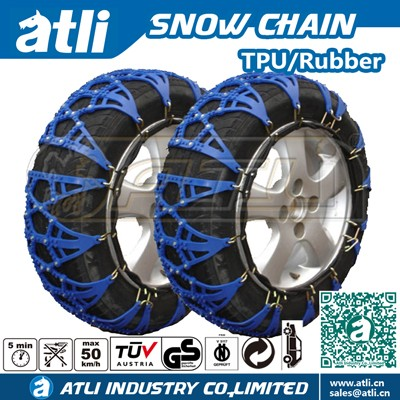 Atli Easy Install Snow Mud Sand Tire Traction Device Set Of 2 Snow